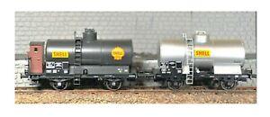 HO-REE-Ref-WB-220-SET-de-2-Wagons-Citernes-OCEM-19-Ep-III-SNCF-neufs