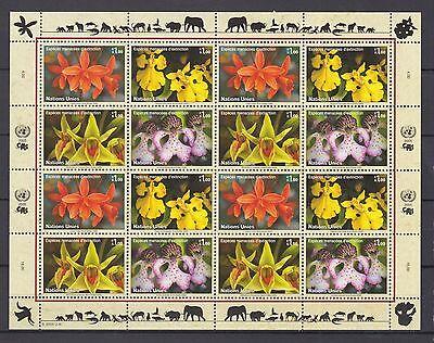 Uno Genf 2005 Postfrisch Minr Topical Stamps 510-513 Gefährdete Arten Modern Design United Nations