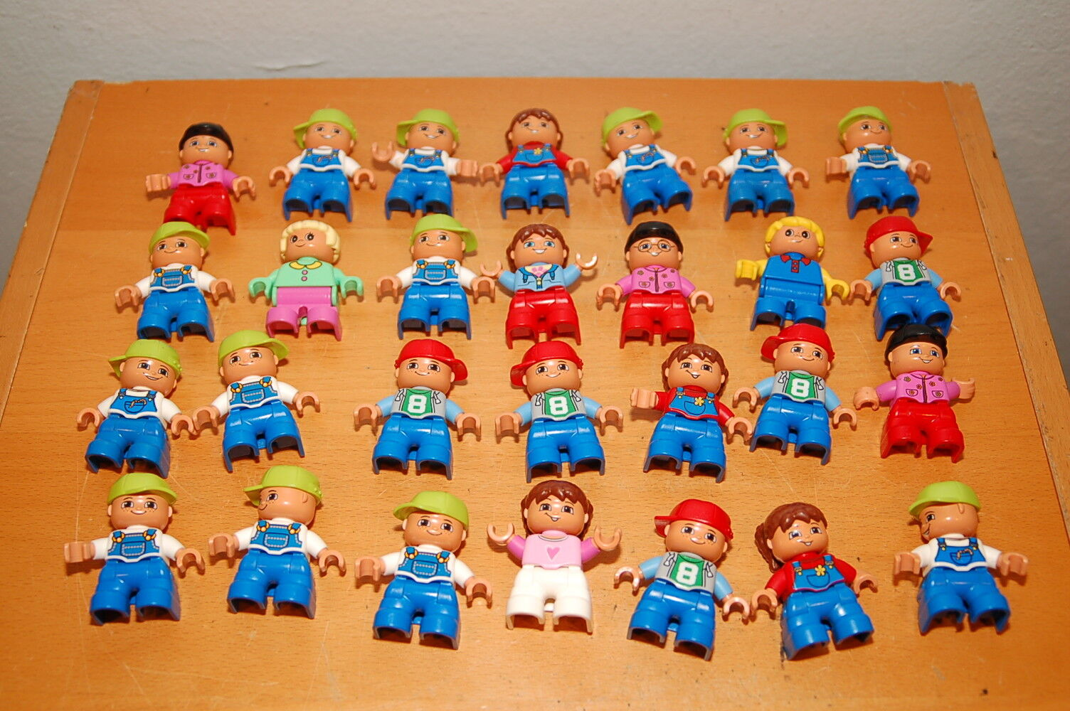 Lot of 28 Lego Duplo Toddlers Kids Girls & Boys Baby Figures