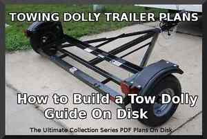 Awe Inspiring Towing Dolly Trailer Plans Step By Step Guide On Disk Pdf Build Largest Home Design Picture Inspirations Pitcheantrous