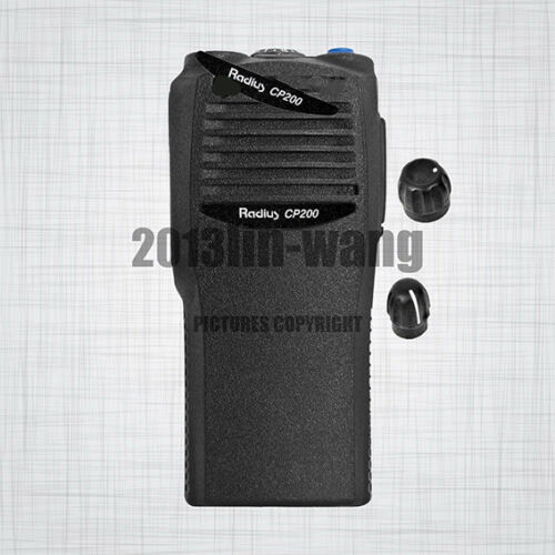 PMLN4553 Black Replacement Housing Case For MOTOROLA CP200 Portable