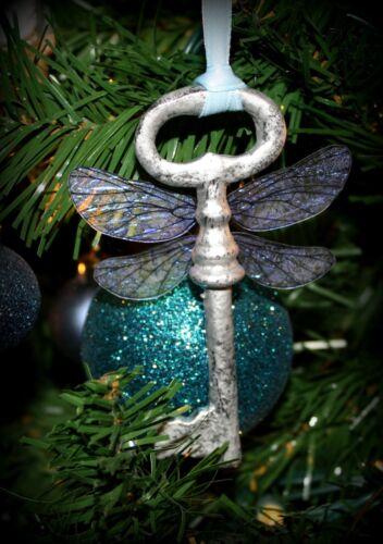 JUMBO Winged Key Themed Ornament