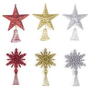 image is loading christmas tree topper metal star decor xmas tree