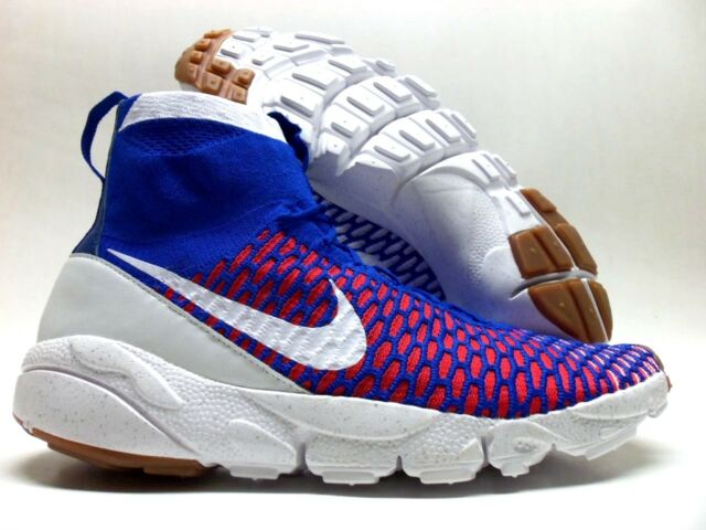 a239eed93fb1 Nike Air Footscape Magista SP Gym Royal uni Red-white Size Men s 10  652960-401