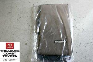 NEW OEM TOYOTA 96-2004 TACOMA EXTRA CAB OAK (BROWN) FLOOR MATS & CLIPS 4PC SET