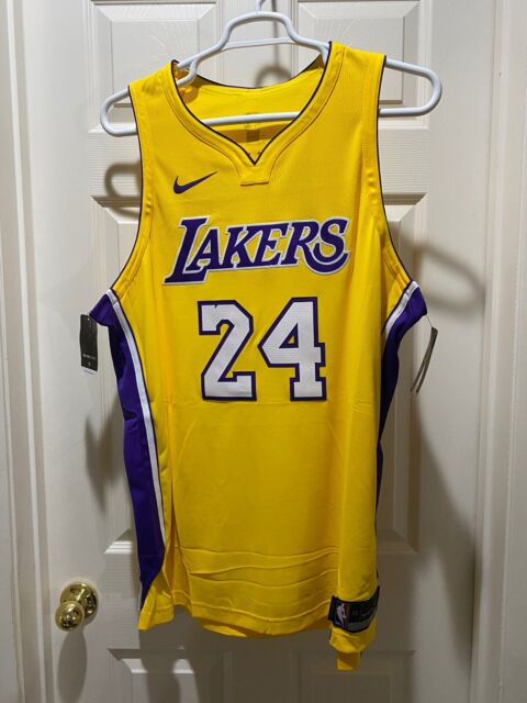 Nike Los Angeles Lakers Kobe Bryant 24 Icon Authentic Jersey Sz M ...