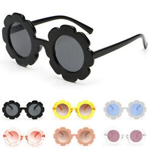 Toddlers-Children-Kids-Sunglasses-UV400-Flower-Girls-Boys-Eyeglasses-Goggles
