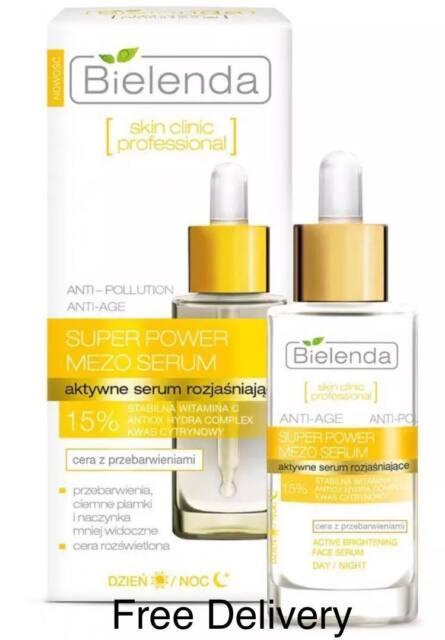 Bielenda Skin Clinic Super Power Mezo Actively Brightening Serum,30ml