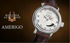 Bulova Accutron Amerigo 63B021 Swiss Made Automatic Men's Watch ETA 2824 NEW