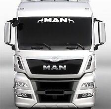 MAN Truck screen sticker/decal for lorry cab windscreen glass