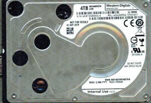 WD40NMZW-11GX6S1 WESTERN DIGITAL USB 3.0 4TB  APR 2018 WX51D