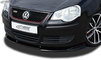VW Polo 9N3 2005+ incl. GTI - Front splitter Vario