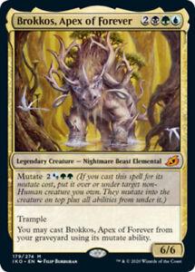 Brokkos, Apex of Forever x4 NM Magic the Gathering 4x Ikoria mtg card lot mythic