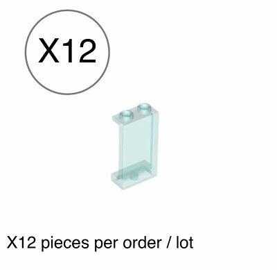 LEGO LOT #7 Trans Transparent Clear Translucent Brick Windows Parts Pieces Legos