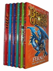 Beast-Quest-Series-1-Avantia-6-Books-Adam-Blade-Boys-Adventure-Fun-New
