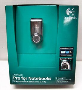 Logitech QuickCam Pro For Notebooks 2-Megapixel Notebook Webcam w