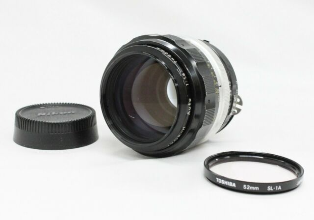[Excellent+++++] Nikon Nikkor-H Auto 85mm F/1.8 Ai Converted Lens from Japan