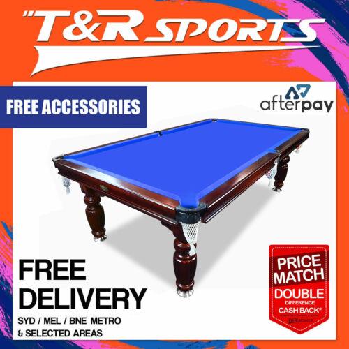 8ft Blue Slate Pool Table