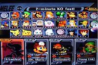 Memory Card - Super Smash Bros Melee Gamecube Everything Unlocked + 2 Bonuses