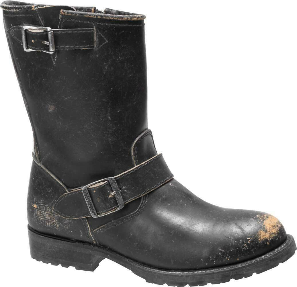 Harley-Davidson Women's Kamson 1903 Collection Black Motorcycle Boots D84415