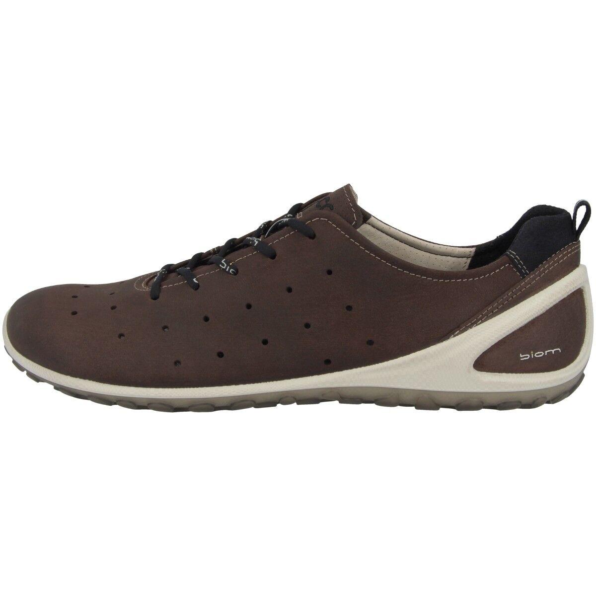 Ecco Biom Lite 1.2 Scarpe natural motion Men Uomo scarpe da ginnastica Coffee 802004-51869 | Tatto Comodo  | Gentiluomo/Signora Scarpa