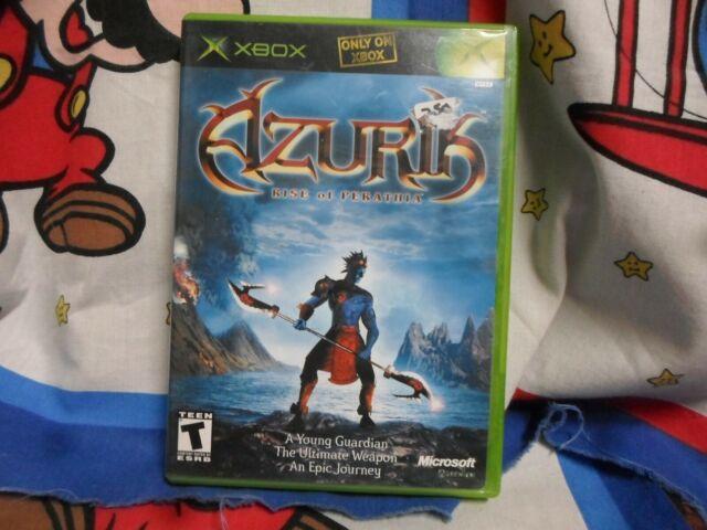 XBOX Azurik Rise of Perathia  Game COMPLETE