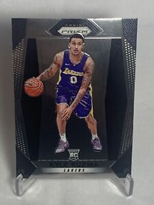 2017-18 Panini Prizm #283 KYLE KUZMA Rookie RC - Lakers. Sharp🔥📈