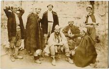 1919 Ricordo dell'Albania ritratto abitanti ann. Valona FP B/N VG ANIM