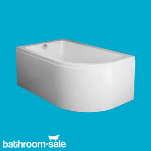 Freedom 1500mm X 950mm Left Hand Corner Bath Complete With