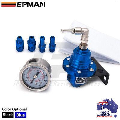 1x iPR Fuel Pressure Regulator FPR 800 HP For WRX STI EVO SUPRA VL S13 S14 S15
