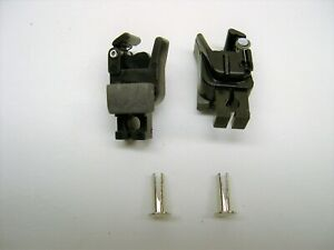 2-Repro-American-Flyer-Universal-Knuckle-Couplers-2-Split-Installation-Rivets