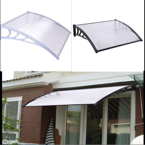 J LIVING 12FT Finestra Porta Sole Tettuccio Hollow foglio Tenda da sole in policarbonato UV Pioggia