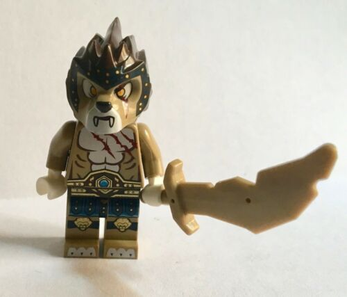 LEGO Minifigure legends of Chima Long tooth Longtooth Lion with sword