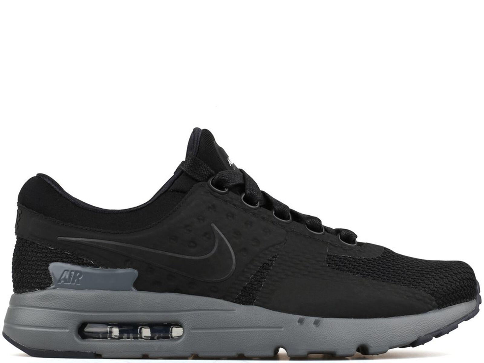 low priced 9eb74 1e756 Nike Air Max Zero QS 789695-001 NikeLab Tier 0 Black Dark Grey DS Size 7.5