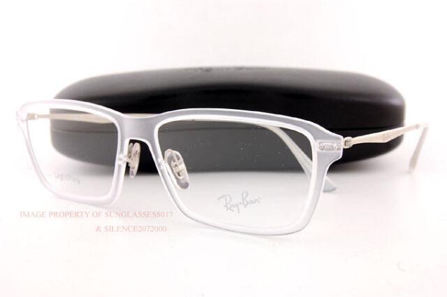 cc65202d8a5d Brand New Ray-Ban Eyeglass Frames RX 7038 5452 Matte Transparent For Men  Women