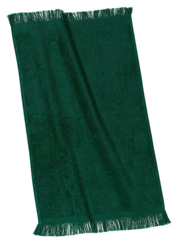 Port & Company New Cotton Soft Highly Absorbent Fingertip Towel. PT39