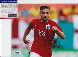 Luke-Shaw-England-Signed-Autograph-8x10-Photo-PSA-DNA-COA-1