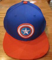 Avengers Captain America Shield Adjustable Adult Hat Marvel Comics Brand