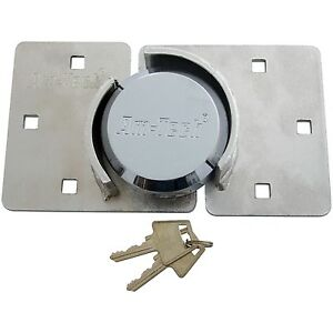73mm Heavy Duty Shackless Padlock And Hasp Set Gate Shed