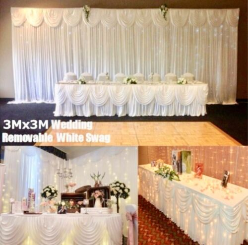 10x10 wedding backdrop curtain swag Curtain Lights Stand Kit