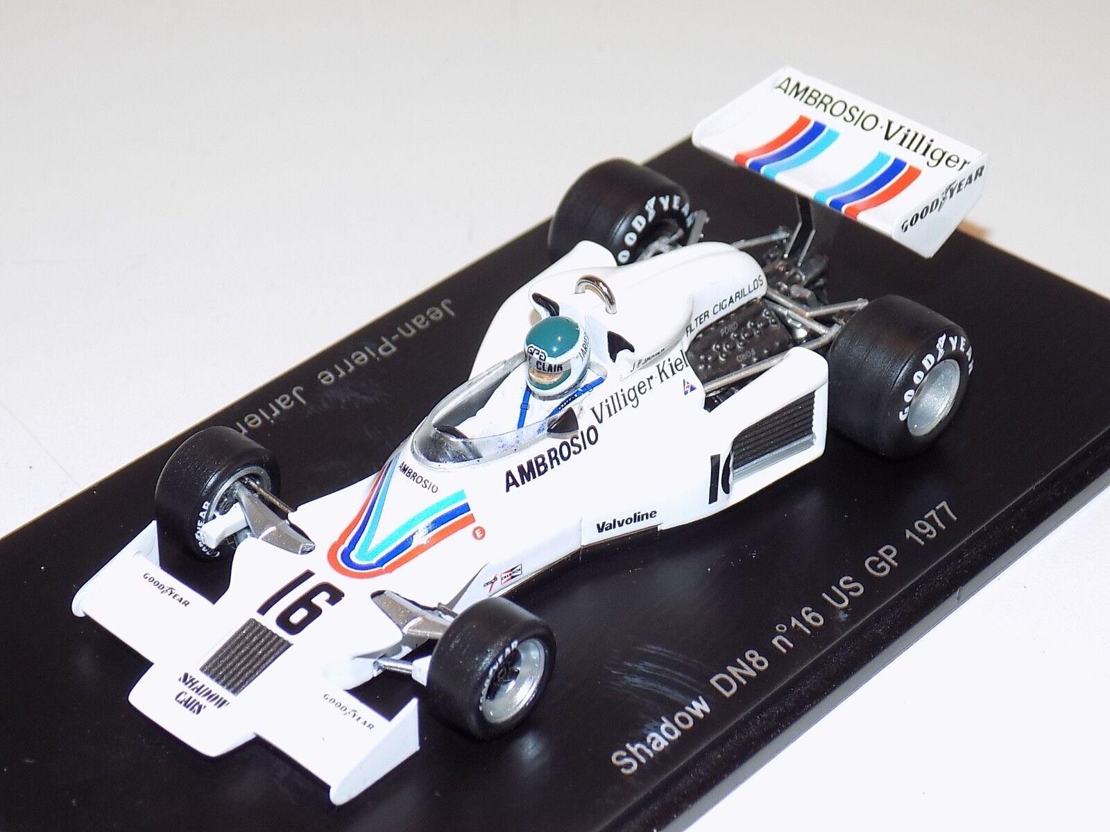 1 43 Spark Shadow DN8 car US GP Jean Pierre Jarrier 1977   S1757