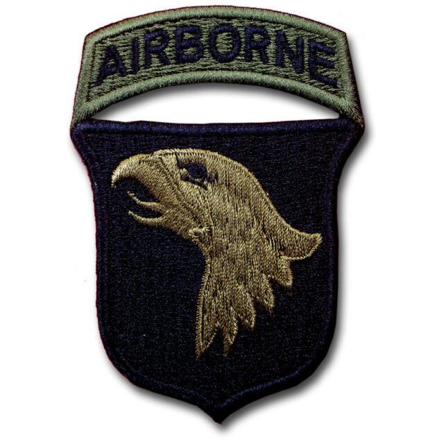 Paratrooper Airborne design Iron on patch.101st division Screaming eagles