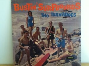 THE  TORNADOES       LP      BUSTIN   SURF  BOARDS