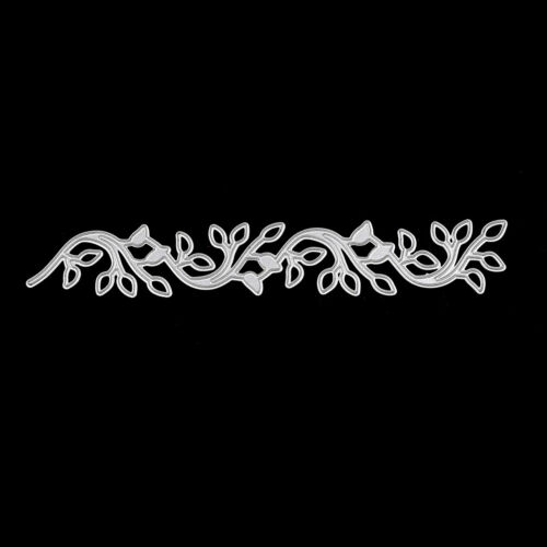 Lace leaves decor Metal cutting dies stencil scrapbooking embossing album diy  X