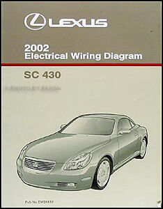 2002 lexus sc 430 wiring diagram manual original electrical lexus sc430 radio wiring diagram image is loading 2002 lexus sc 430 wiring diagram manual original