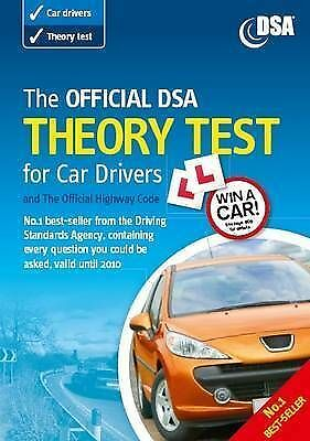 """""""AS NEW"""" Driving Standards Agency, The Official DSA Theory Test for Car Drivers"""