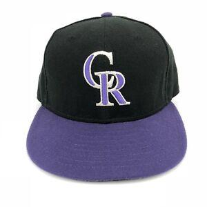 low priced ecd3a da317 Image is loading Colorado-Rockies-MLB-New-Era-59-Fifty-Sz-