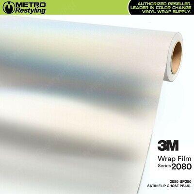 3M 1080 SP280 SATIN FLIP GHOST PEARL Vinyl Vehicle Wrap Decal Film Sheet Roll