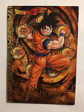 Dragon Ball Z Collection Card Evolution E001 Gold