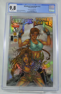 Witchblade-Tomb-Raider-1-2-CGC-9-8-Dynamic-Forces-Holofoil-Edition